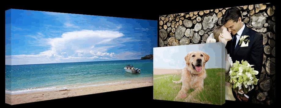 stampa fotografica su tela messina
